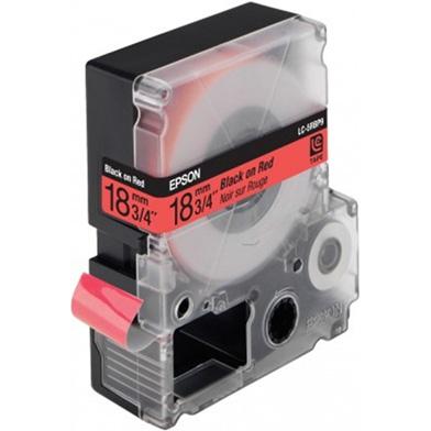 Epson LC-5RBP9 Black/Red 18mm (9m) tape