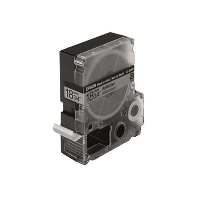 Epson LC-5SBR1 Black/Silver 18mm (1.5m) tape
