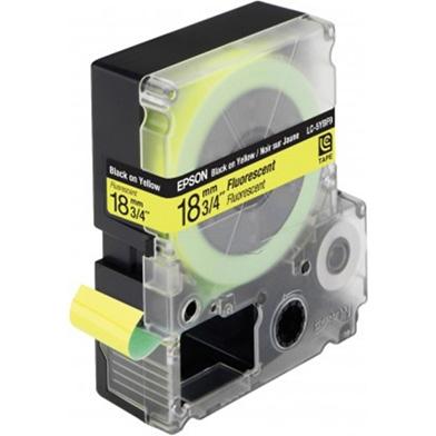 Epson LC-5YBF9 Black/Yellow 18mm (9m) tape