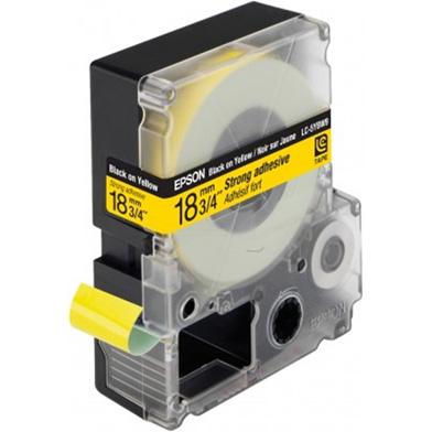 Epson LC-5YBW9 Black/Yellow 18mm (9m) tape