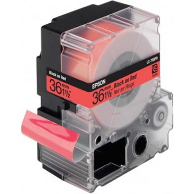 Epson LC-7RBP9 Black/Red 36mm (9m) tape