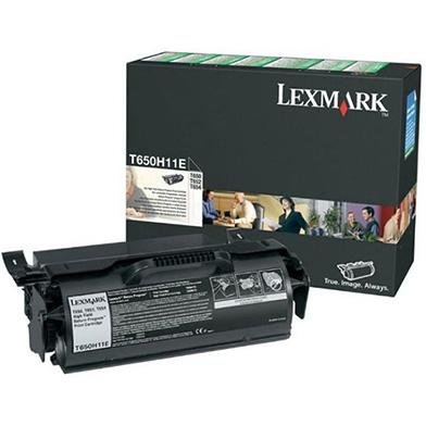 Lexmark 0T650H11E Black High Yield Return Program Print Cartridge (25,000 Pages)