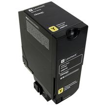 Lexmark 24B6719 24B6719 Yellow Toner Cartridge (13,000 Pages)