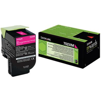 Lexmark 70C2XM0 Magenta Extra High Cap Toner Cartridge (4,000 Pages)