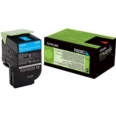 Lexmark 70C2XC0 Cyan Extra High Cap Toner Cartridge (4,000 Pages)