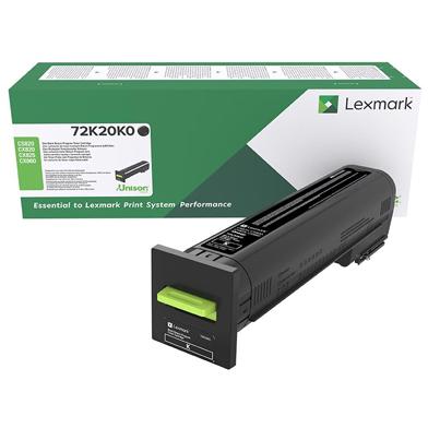 Lexmark 72K20K0 Black Return Programme Toner Cartridge (8,000 Pages)