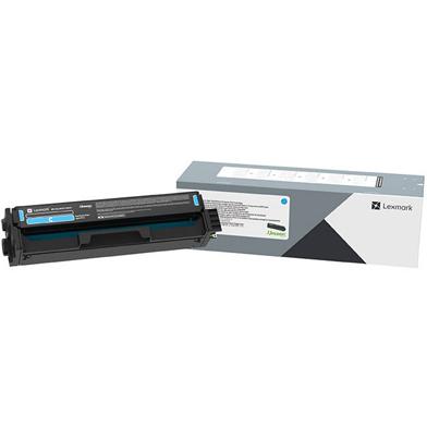 Lexmark C330H20 Cyan High Yield Toner Cartridge (2,500 Pages)