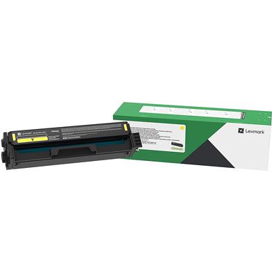 Lexmark C332HY0 Yellow Return Programme Toner Cartridge (2,500 Pages)