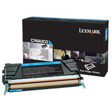 Lexmark C746A2CG C746A2CG Cyan Toner Cartridge (7,000 Pages)