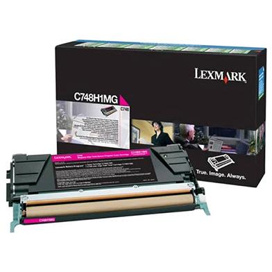 Lexmark C748H1MG Magenta High Yield Return Program Toner Cartridge (10,000 pages)