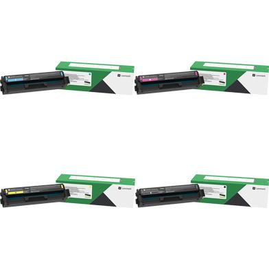 Lexmark LEX20N20VL RP Toner Cartridge Value Pack CMYK (1,500 Pages)