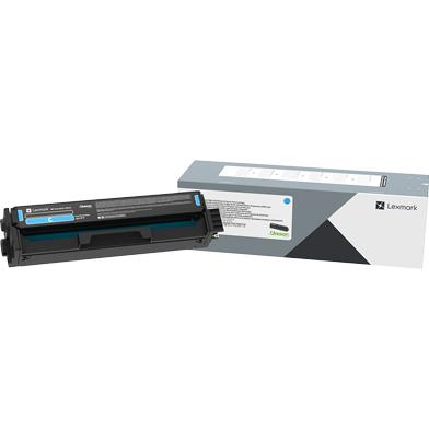 Lexmark 20N0X20 Cyan High Yield Toner Cartridge (6,700 Pages)