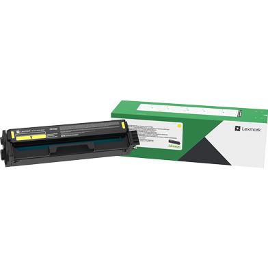 Lexmark 20N2XY0 Yellow High Yield Return Programme Toner Cartridge (6,700 Pages)