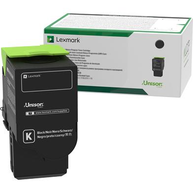 Lexmark 78C2XK0 Black Extra High Yield Return Programme Toner Cartridge (8,500 Pages)