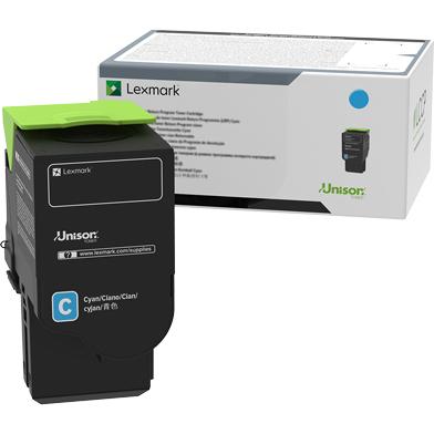 Lexmark 78C0U20 Cyan Ultra High Yield Toner Cartridge (7,000 Pages)