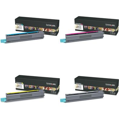 Lexmark  X925H2 Hi-Cap Toner Rainbow Pack CMY (7.5K) + Black (8.5K)