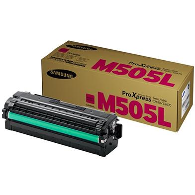 Samsung CLT-M505L Magenta Toner Cartridge (3,500 Pages)