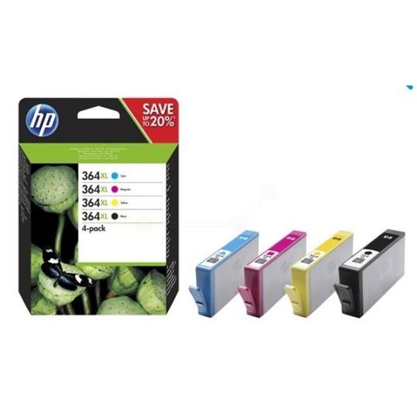 HP N9J74AE 364XL Ink Cartridge CMYK Multipack (550 pages black, 750 pages CMY)