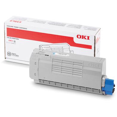 OKI 44318607 Cyan Toner Cartridge (11,500 Pages)