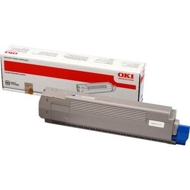 OKI 44643003 Cyan Toner Cartridge (7300 Pages)