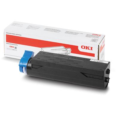 OKI 44917602 Black Toner Cartridge (12,000 Pages)