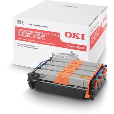 OKI 44968301 Image Drum (30,000 Pages Black, 20,000 Pages Colour)