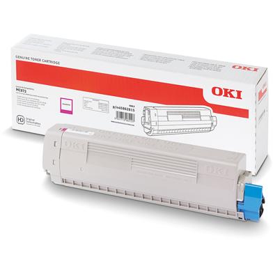 OKI 45862815 High Capacity Magenta Toner Cartridge (10,000 Pages)