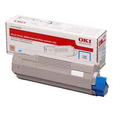 OKI 46471103 Cyan Toner Cartridge (7,000 Pages)