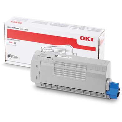 OKI 46507616 Black Toner Cartridge (11,000 Pages)