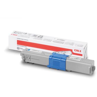 OKI 46508711 High Capacity Cyan Toner Cartridge (3,000 Pages)
