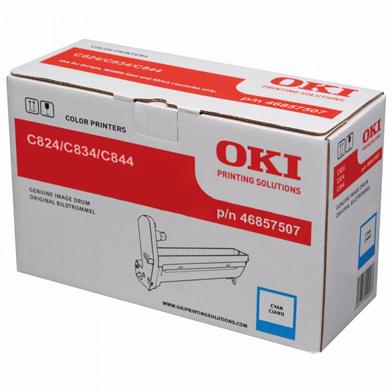 OKI 46857507 Cyan Image Drum (30,000 Pages)