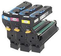 Konica Minolta 1710594-001 High Capacity Toner Value Kit CMY (6,000 pages)