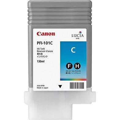 Canon 0884B001AA PFI-101C Cyan Ink Cartridge (130ml)