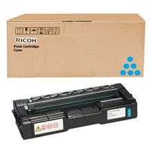 Ricoh 407717 High Capacity Cyan Toner Cartridge (6,000 Pages)
