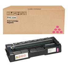 Ricoh 407718 High Capacity Magenta Toner Cartridge (6,000 Pages)
