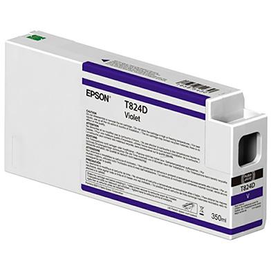 Epson C13T824D00 Violet Ink Cartridge (350ml)