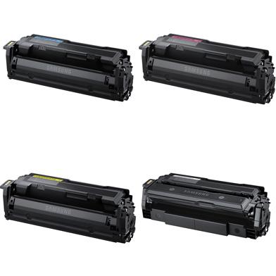 Samsung CLT603LVAL CLT-603L Toner Cartridge Value Pack CMY (10K Pages) K (15K Pages)