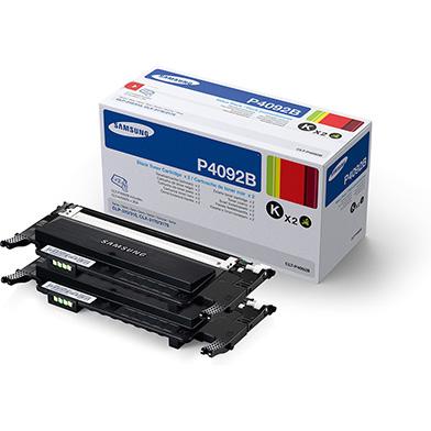 Samsung SU391A CLT-P4092B Black Toner Cartridge Twin Pack (3,000 Pages Each)