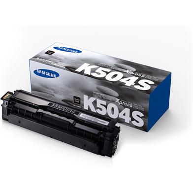 Samsung CLT-K504S Black Toner Cartridge (2,500 Pages)