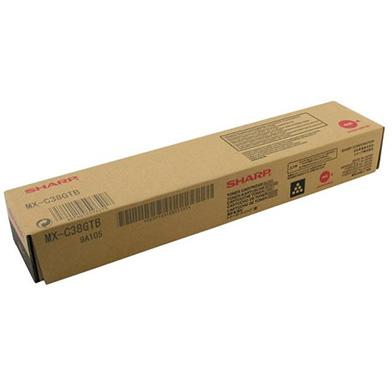 Sharp MX-C38GTB Black Toner Cartridge (10,000 Pages)