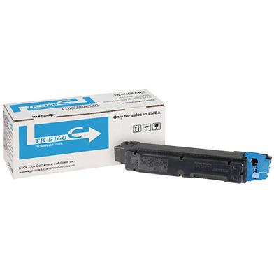 Kyocera 1T02NTCNL0 TK-5160C Cyan Toner Cartridge (12'000 Pages)