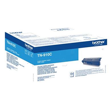 Brother TN910C Cyan TN-910C Toner Cartridge (9,000 Pages)