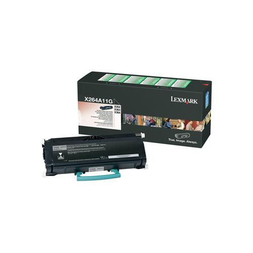 Lexmark X264A11G Black 3.5k Return Program Toner Cartridge