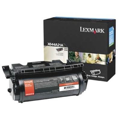 Lexmark X644A21E Black Toner Cartridge (10,000 Pages)