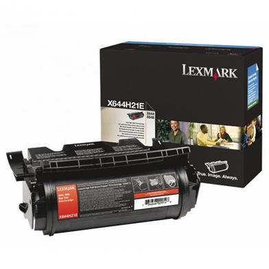Lexmark X644H21E High Capacity Black Toner Cartridge (21,000 Pages)