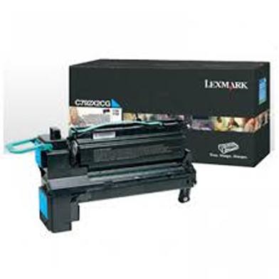 Lexmark X792X2CG Extra High Capacity Cyan Toner Cartridge (20,000 Pages)