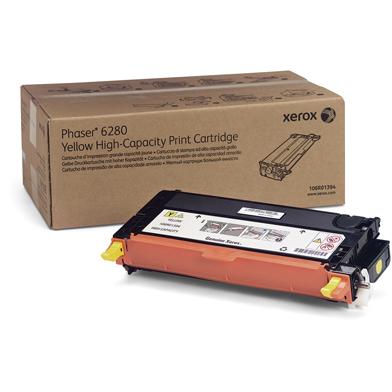 Xerox 106R01394 Yellow Hi-Cap Toner Cartridge (7,000 Pages)