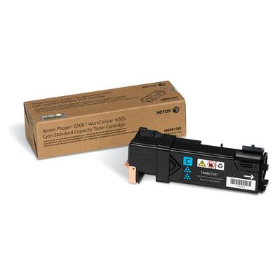 Xerox 106R01591 Cyan Toner Cartridge (1,000 Pages)