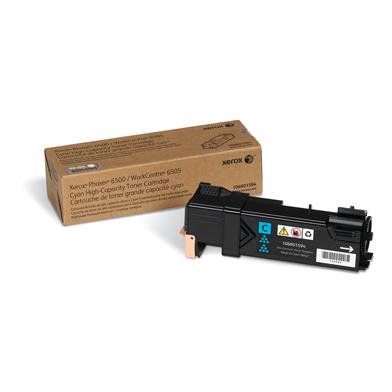Xerox 106R01594 Hi-Cap Cyan Toner Cartridge (2,500 Pages)