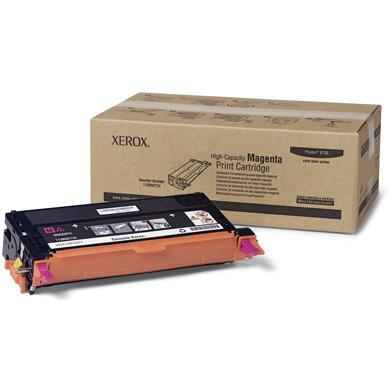 Xerox 113R00724 Magenta Hi-Cap Toner Cartridge (6,000 Pages)